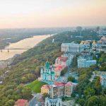 В конце сентября в Киеве расцвели каштаны - фото