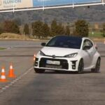 Toyota GR Yaris задал жару на «лосином тесте». ВИДЕО
