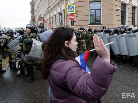 В Москве за время протестов задержали 5 тыс. человек