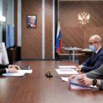 Ирек Файзуллин провёл рабочую встречу с главой Удмуртской Республики Александром Бречаловым