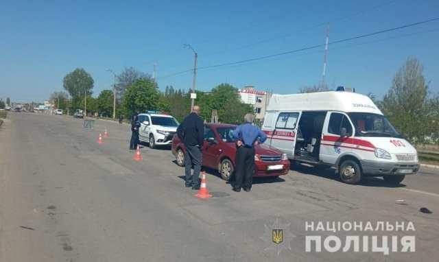 Полиция устанавливает свидетелей смертельного ДТП в Новой Каховке