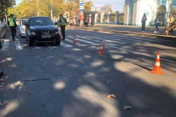 В Херсоне потерпевшую в резонансном ДТП до сих пор не опросила полиция