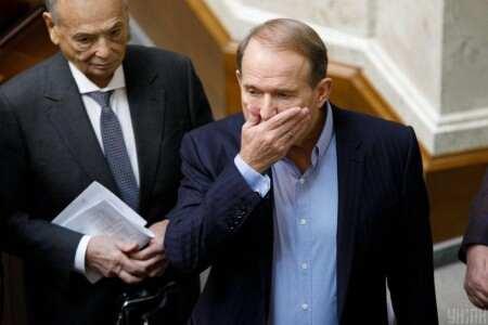 РНБО запровадила санкції проти Віктора Медведчука і його дружини