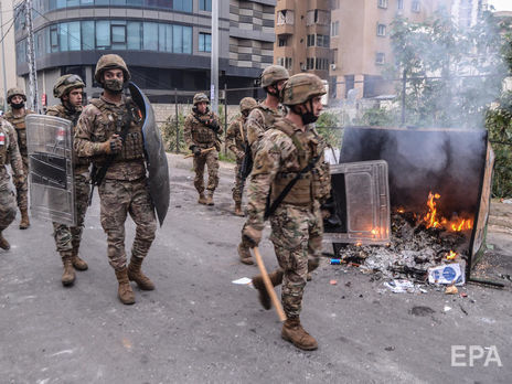 В Ливане в ходе столкновений между протестующими и полицией пострадали более 200 человек