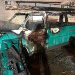У Львові вщент згорів автомобіль (фото)