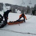 На Львівщині травмувалась лижниця