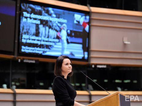 """Тихановская заявила, что белорусская оппозиция """"потеряла улицы"""""""