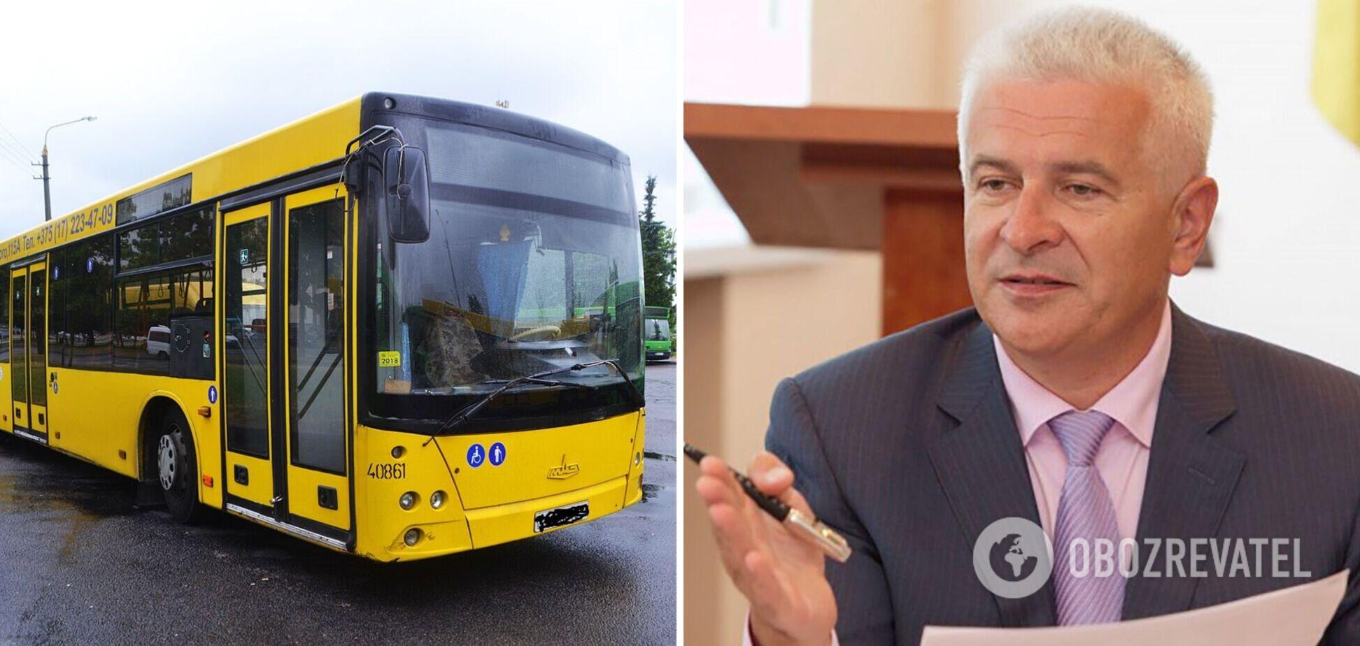 Олейник прокомментировал скандал с закупкой белорусских автобусов для Львова