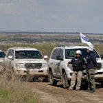 Наблюдателей ОБСЕ все еще блокируют в Донецке
