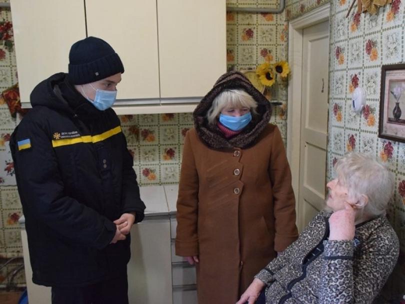 В Центральном районе состоялся рейд по домам пожилых граждан