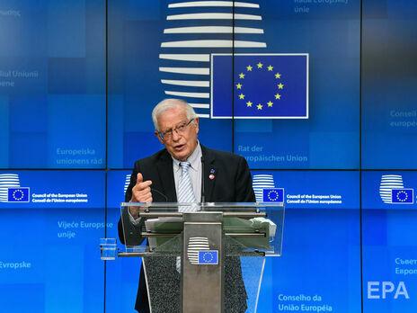 ЕС считает необоснованными обвинения Россией Чехии и США в недружественных действиях – Боррель