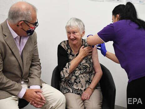 В Австралии стартовала вакцинация от коронавируса