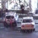 В Одессе патрульная за рулем служебного авто сбила женщину (видео)