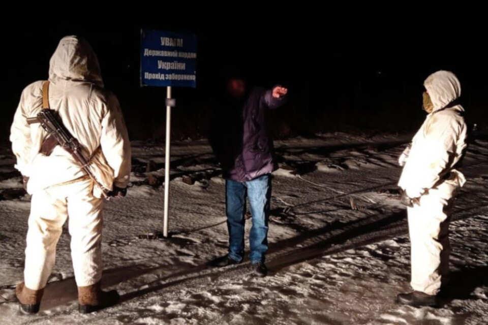 Сумські прикордонники затримали громадянина Вірменії, який намагався незаконно потрапити до Росії