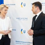 Зеленский обсудил с главой ЕК саммит Украина-ЕС