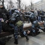 Совет ЕС призвал освободить Навального и задержанных на акциях в его поддержку