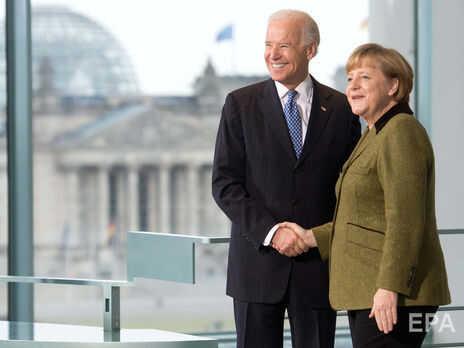 """Меркель, у которой были """"прохладные"""" отношения с Трампом, пригласила Байдена в Германию"""