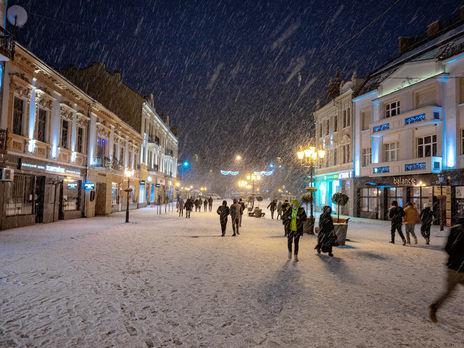 """""""Результаты нашего циклончика"""". Гидрометцентр рассказал, где в Украине выпало больше всего снега"""