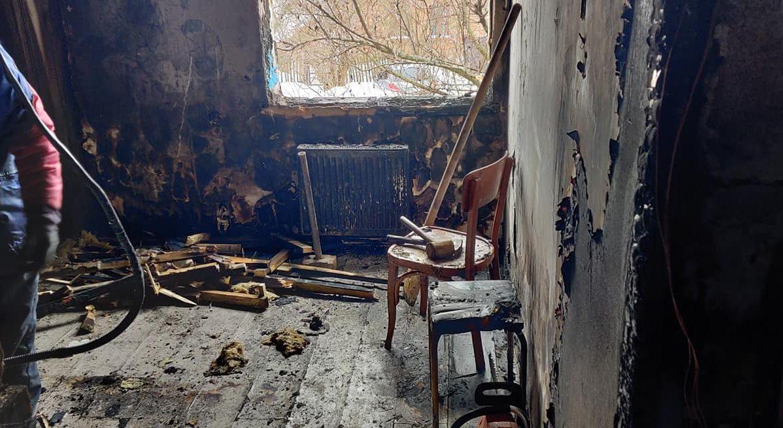 В Виннице сгорел дом многодетной семьи