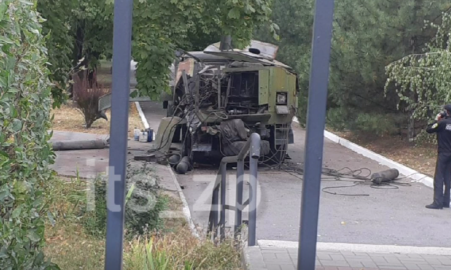 На территории Запорожского медунивера произошел взрыв — соцсеть (ВИДЕО)