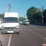 На Чуднівській у Житомирі маршрутка в'їхала в Renault