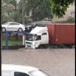В Одессе во время мощного ливня взорвалась электроподстанция: видео ЧП
