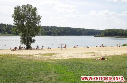 Лабораторний центр знову перевірив воду на пляжах у містах області: вміст кишкової палички «зашкалює» лише у Коростені