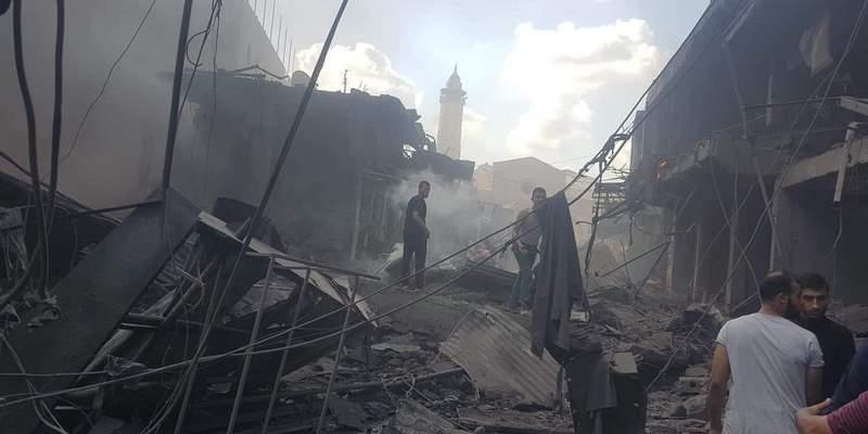 В секторе Газа взрыв на рынке - есть погибший и раненые (фото, видео)