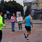 На Космомарафоні у Житомирі нагородили переможців дистанцій 21 км та 10 км