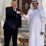 Зеленские прихватили с собой в ОАЭ Авакова: чем занимался в Эмиратах министр