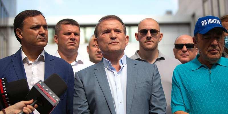 Медведчук: Уголовное дело против меня сфальсифицировано с целью давления на оппозицию, которая не согласна с курсом президента