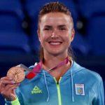 """Зеленський привітав тенісистку Світоліну з """"бронзою"""" на Олімпіаді-2020"""