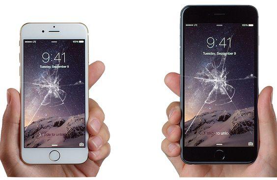 Trasig iPhone 6 skärm