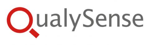 Company logo: qualysense