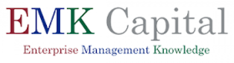 Company logo: emk capital