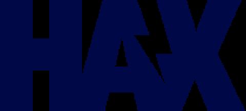 Company logo: haxlr8r