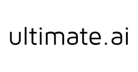 Company logo: ultimate.ai