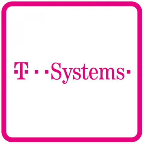 Company logo: t-systems