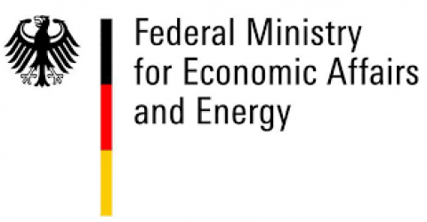Company logo: bmwi-federal ministry for economic affairs and energy