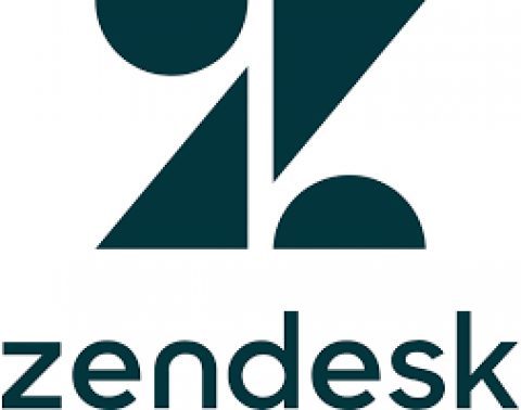 Company logo: zendesk