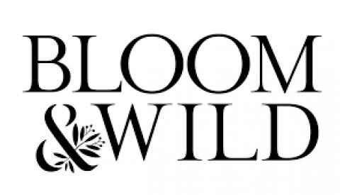 Company logo: bloom & wild