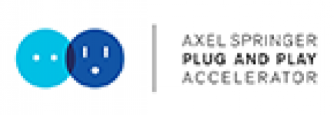 Company logo: axel springer plug and play accelerator
