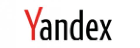 Company logo: yandex