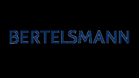 Company logo: bertelsmann