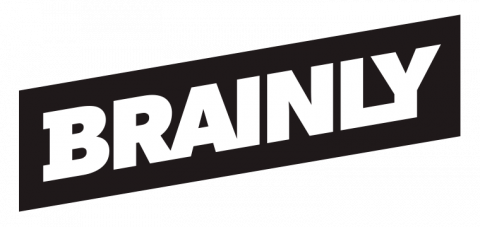 Company logo: brainly