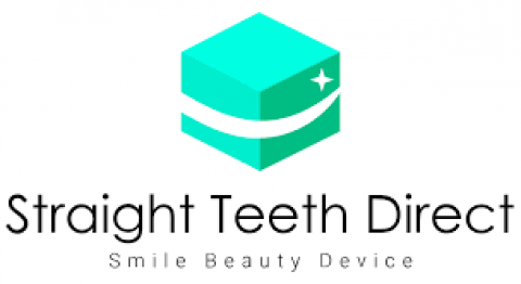 Company logo: straight teeth direct