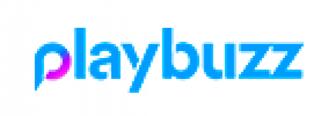 Company logo: playbuzz