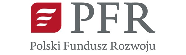 Logo: PFR - Polish Development Fund