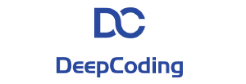 Company logo: deepcoding