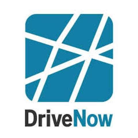 Company logo: drivenow